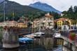 Mennagio Harbour - Lake como