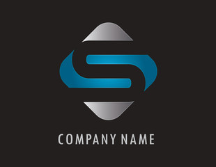 S business logo