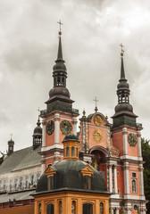 Famous church in Holy Lipka - Poland.