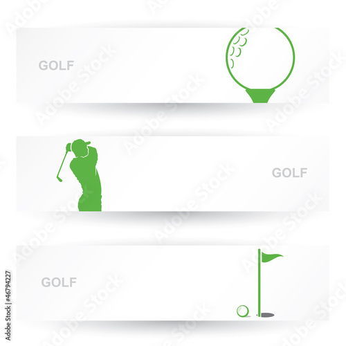 Golf headers