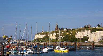 Il porto di Dieppe