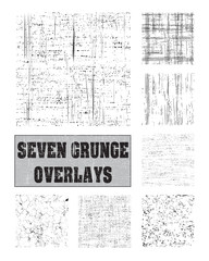 Grunge overlays