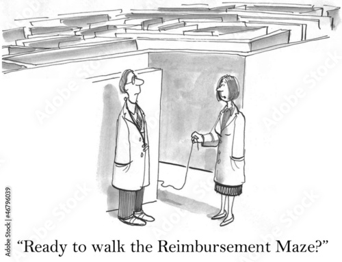 Doctors are ready to walk the reimbursement maze