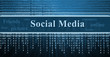 social network concept, technology background