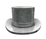Die-cast Top Hat