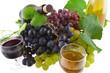 raisins et vin