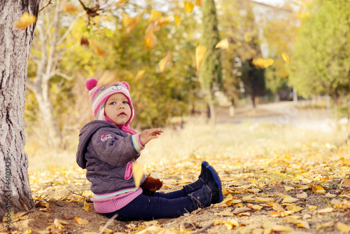 fall for toddler girl