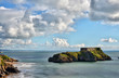 View of St Catherine's Island, near Tenby in Wales