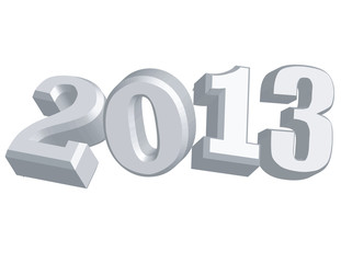New Years 2013 Vector clip art