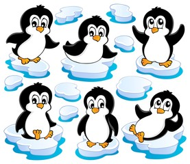 Cute penguins collection 2