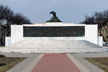 Monument to the Victims of fascism in Subotica, Serbia