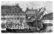 Strasbourg - end 18th century - Riot - Emeute