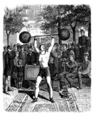 Strong Man - 19th century