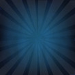 Blue Grunge Background Texture With Sunburst