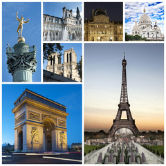 Paris collage