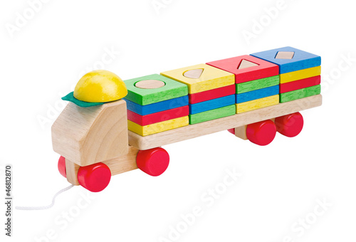 Kids wooden truck clean and safety toys the inspiration starting
