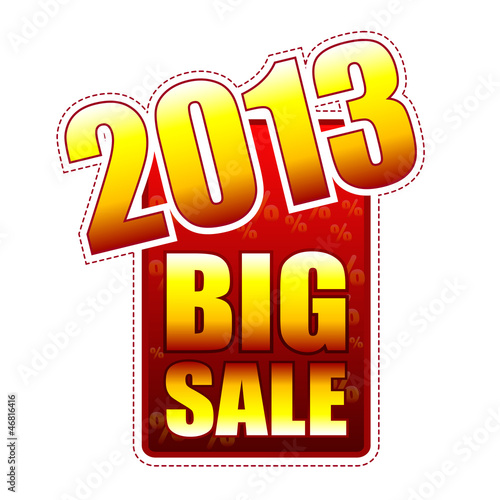 big sale year 2013 label