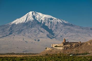 Ancient Armenian church Khor Virap