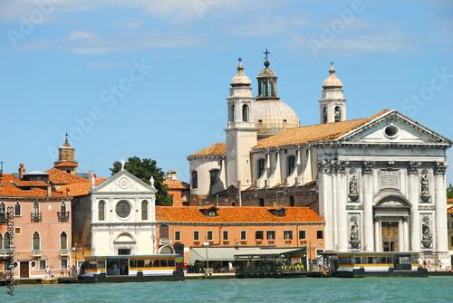 vue du canal de la Giudecca à Venise