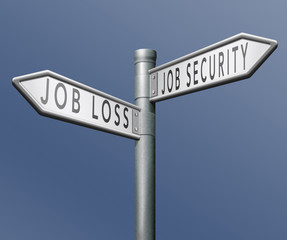 job loss or security