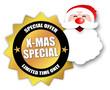 """Star-shaped Sticker """"X-Mas Special"""""""