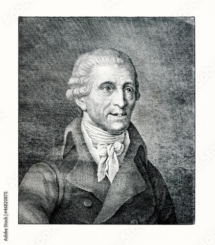 Portrait of composer Franz Joseph Haydn