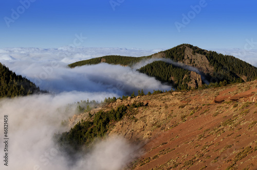 Landscape of lava, Teide National Park. Tenerife