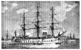 Ship 19th century (Le Bayard)