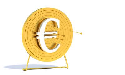 Golden Archery Target Euro