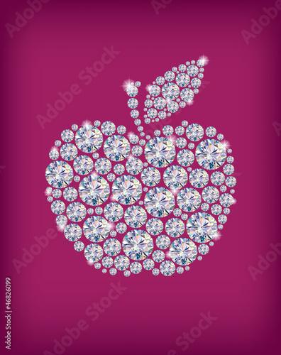 Diamond apple