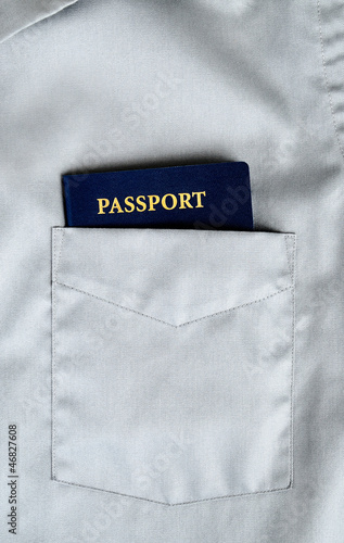 passport in pocket