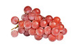 Bunch of red grape, isolated on a white background