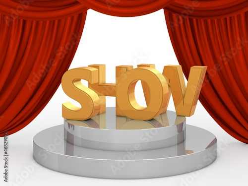 show bühne