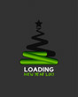 loading christmas tree 2013