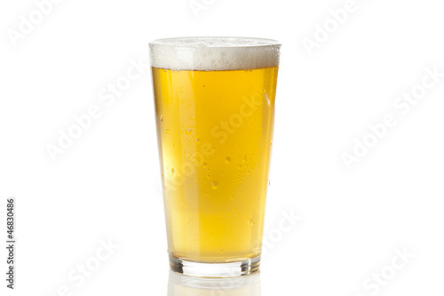 canvas print picture Refreshing Ice Cold Beer