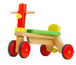 Wooden toy bicycle kids need to learn to drives