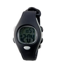 Modern design of the digital panel wristwatch