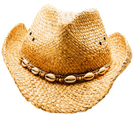 Shells on cowboy hat