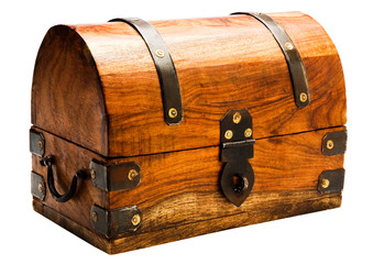 Brown chest box