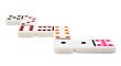Multi colored dominos