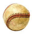 One dirty baseball