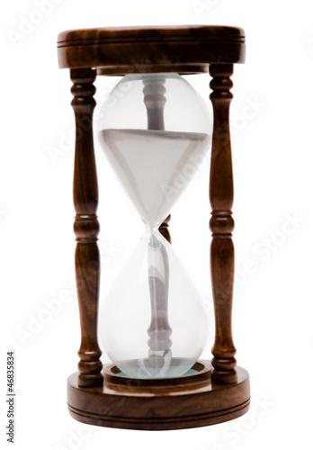 Leinwandbild Motiv One hourglass