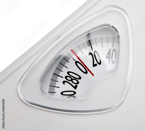 Close-up of a weighing scale