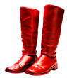 Pair of red boots