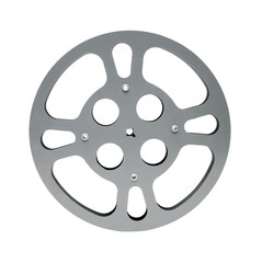 Gray film reel gear