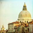 View on Basilica Santa Maria della Salute Venice - Italy
