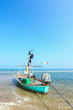 Traditional Thai fisherman boats on the beach,, Thailand