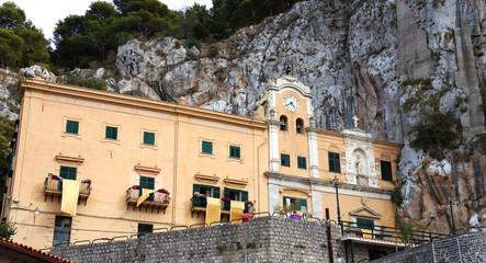 Saint Rosalia sanctuary of Palermo in Sicily