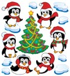 Cute penguins collection 4