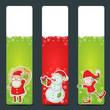Christmas congratulation stickers
